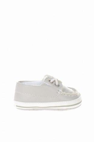 Παιδικά παπούτσια Chicco, Μέγεθος 16, Χρώμα Γκρί, Δερματίνη, Τιμή 8,30€