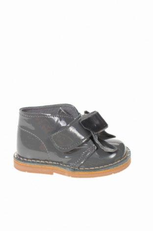 Παιδικά παπούτσια Lola Palacios, Μέγεθος 20, Χρώμα Γκρί, Γνήσιο δέρμα, κλωστοϋφαντουργικά προϊόντα, Τιμή 15,77€