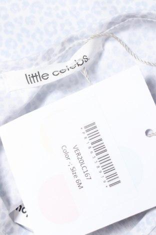 Детски потник Little Celebs, Размер 3-6m/ 62-68 см, Цвят Син, Памук, Цена 21,00лв.