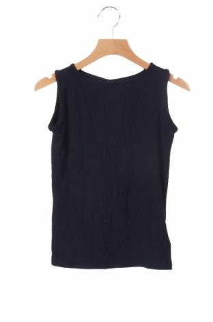 Μπλουζάκι αμάνικο παιδικό Name It, Μέγεθος 4-5y/ 110-116 εκ., Χρώμα Μπλέ, 94% βισκόζη, 6% ελαστάνη, Τιμή 5,76€