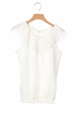 Μπλουζάκι αμάνικο παιδικό Tutto Piccolo, Μέγεθος 11-12y/ 152-158 εκ., Χρώμα Λευκό, 80% βισκόζη, 20% πολυαμίδη, Τιμή 6,20€