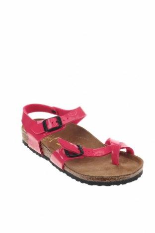Παιδικά σανδάλια Birkenstock, Μέγεθος 33, Χρώμα Ρόζ , Δερματίνη, Τιμή 32,12€
