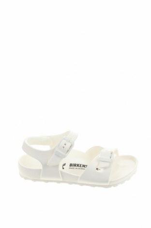 Παιδικά σανδάλια Birkenstock, Μέγεθος 27, Χρώμα Λευκό, Πολυουρεθάνης, Τιμή 34,41€