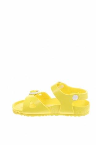 Παιδικά σανδάλια Birkenstock, Μέγεθος 26, Χρώμα Κίτρινο, Πολυουρεθάνης, Τιμή 34,41€