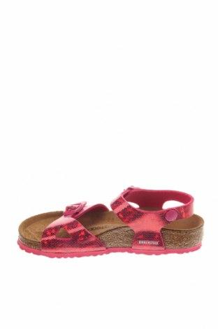 Παιδικά σανδάλια Birkenstock, Μέγεθος 30, Χρώμα Ρόζ , Δερματίνη, Τιμή 38,64€