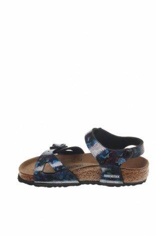 Παιδικά σανδάλια Birkenstock, Μέγεθος 27, Χρώμα Πολύχρωμο, Δερματίνη, Τιμή 39,87€
