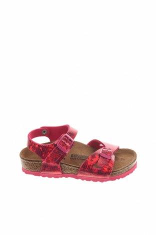 Παιδικά σανδάλια Birkenstock, Μέγεθος 26, Χρώμα Ρόζ , Δερματίνη, Τιμή 41,71€