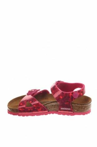 Παιδικά σανδάλια Birkenstock, Μέγεθος 27, Χρώμα Ρόζ , Δερματίνη, Τιμή 38,64€