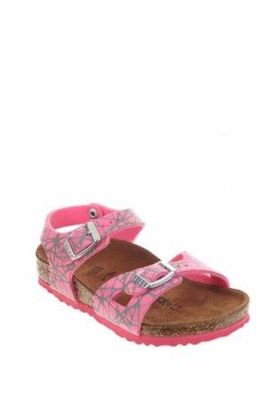 Παιδικά σανδάλια Birkenstock, Μέγεθος 25, Χρώμα Ρόζ , Δερματίνη, Τιμή 28,90€