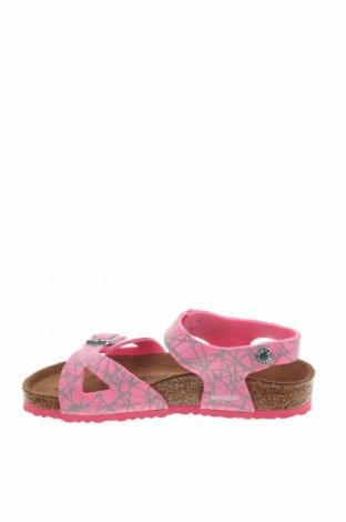 Παιδικά σανδάλια Birkenstock, Μέγεθος 32, Χρώμα Ρόζ , Δερματίνη, Τιμή 28,90€