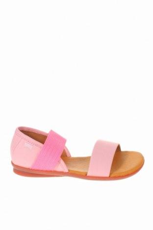 Παιδικά σανδάλια Camper, Μέγεθος 31, Χρώμα Ρόζ , Γνήσιο δέρμα, κλωστοϋφαντουργικά προϊόντα, Τιμή 52,30€