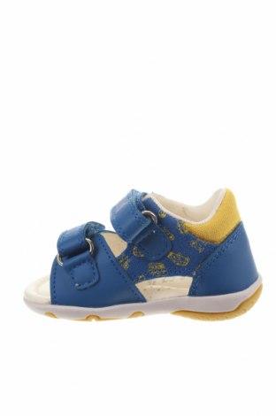 Детски сандали Geox, Размер 19, Цвят Син, Текстил, еко кожа, Цена 66,75лв.