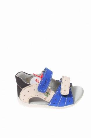 Παιδικά σανδάλια Kickers, Μέγεθος 21, Χρώμα Πολύχρωμο, Γνήσιο δέρμα, Τιμή 24,93€