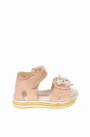 Παιδικά σανδάλια Laura Biagiotti, Μέγεθος 20, Χρώμα Ρόζ , Δερματίνη, κλωστοϋφαντουργικά προϊόντα, Τιμή 28,90€