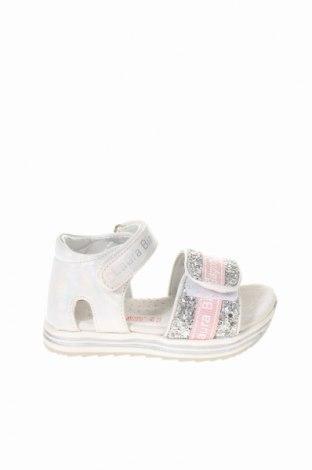 Παιδικά σανδάλια Laura Biagiotti, Μέγεθος 23, Χρώμα Λευκό, Κλωστοϋφαντουργικά προϊόντα, Τιμή 28,90€