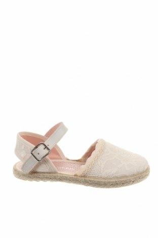 Παιδικά σανδάλια Lola Palacios, Μέγεθος 26, Χρώμα Λευκό, Κλωστοϋφαντουργικά προϊόντα, Τιμή 23,72€