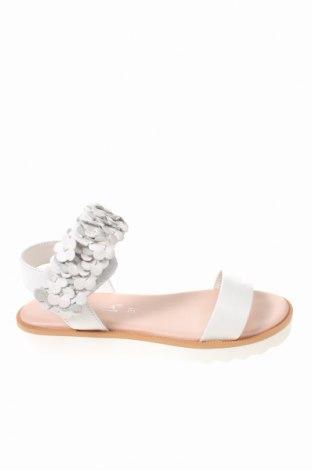 Παιδικά σανδάλια Oca-Loca, Μέγεθος 31, Χρώμα Λευκό, Γνήσιο δέρμα, Τιμή 23,97€