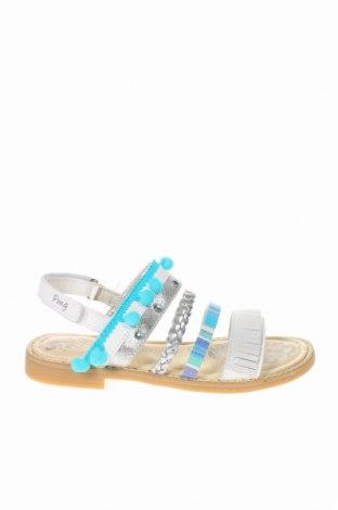 Παιδικά σανδάλια Primigi, Μέγεθος 35, Χρώμα Πολύχρωμο, Γνήσιο δέρμα, δερματίνη, κλωστοϋφαντουργικά προϊόντα, Τιμή 26,68€
