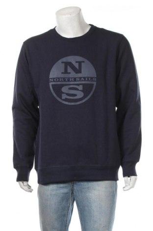 Мъжка блуза North Sails, Размер XXL, Цвят Син, 60% памук, 40% полиестер, Цена 61,74лв.