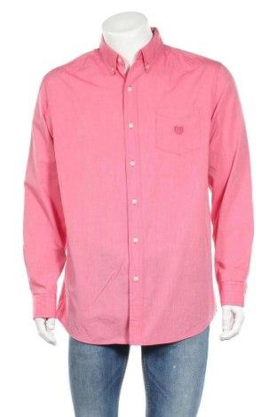 Мъжка риза Chaps, Размер L, Цвят Розов, 60% памук, 40% полиестер, Цена 15,12лв.