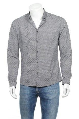 Мъжка риза Drykorn for beautiful people, Размер L, Цвят Сив, Памук, Цена 26,25лв.