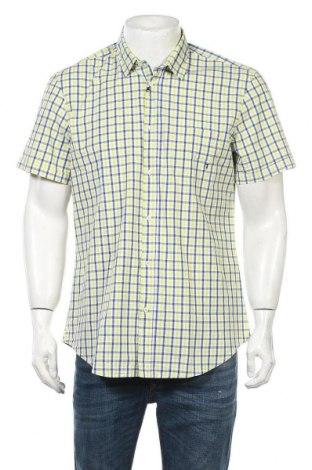 Мъжка риза Trussardi Jeans, Размер L, Цвят Многоцветен, 97% памук, 3% еластан, Цена 56,00лв.