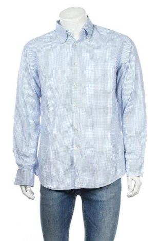 Ανδρικό πουκάμισο Van Laack, Μέγεθος L, Χρώμα Μπλέ, Βαμβάκι, Τιμή 10,88€