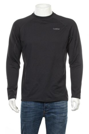 Мъжка спортна блуза Wedze, Размер L, Цвят Черен, Цена 13,92лв.