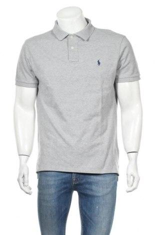 Мъжка тениска Polo By Ralph Lauren, Размер XL, Цвят Сив, Памук, Цена 74,80лв.