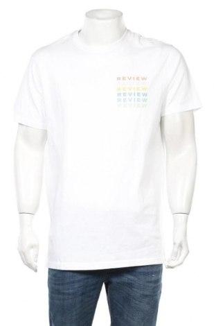 Ανδρικό t-shirt Review, Μέγεθος XL, Χρώμα Λευκό, Βαμβάκι, Τιμή 8,25€