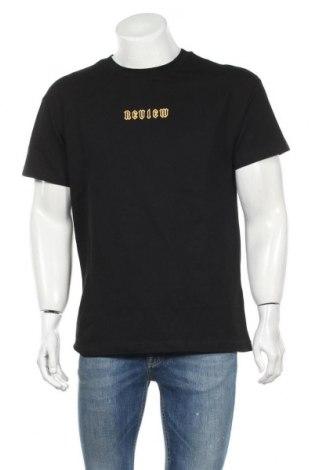 Ανδρικό t-shirt Review, Μέγεθος L, Χρώμα Μαύρο, Βαμβάκι, Τιμή 8,25€