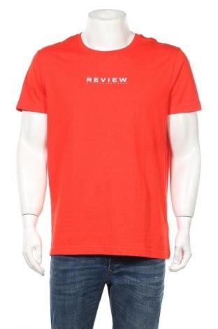 Ανδρικό t-shirt Review, Μέγεθος XL, Χρώμα Κόκκινο, Βαμβάκι, Τιμή 8,25€