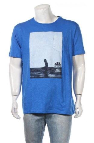 Ανδρικό t-shirt Sundek, Μέγεθος XL, Χρώμα Μπλέ, Βαμβάκι, Τιμή 7,09€