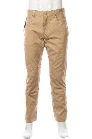 Мъжки дънки Polo By Ralph Lauren, Размер M, Цвят Кафяв, 97% памук, 3% еластан, Цена 89,44лв.