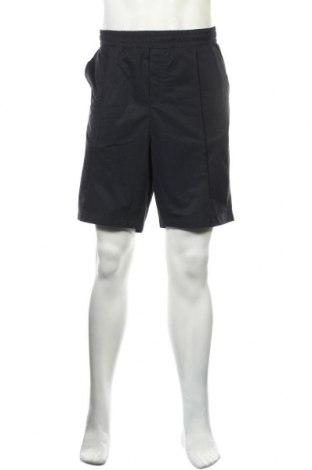 Мъжки къс панталон H&M L.O.G.G., Размер L, Цвят Син, Полиестер, Цена 12,29лв.