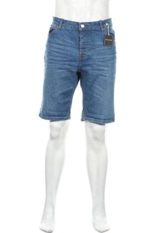 Ανδρικό κοντό παντελόνι Review, Μέγεθος XL, Χρώμα Μπλέ, 98% βαμβάκι, 2% ελαστάνη, Τιμή 15,41€