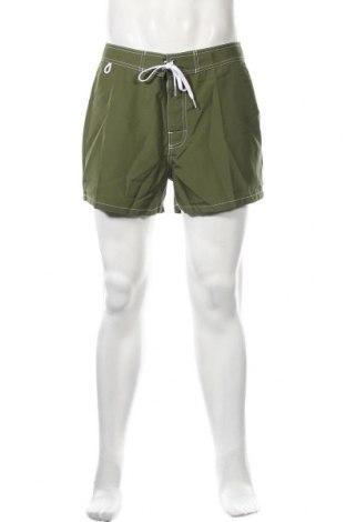 Ανδρικό κοντό παντελόνι Sundek, Μέγεθος M, Χρώμα Πράσινο, Πολυεστέρας, Τιμή 11,56€