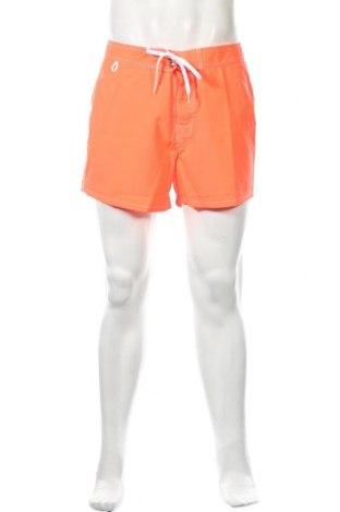 Ανδρικό κοντό παντελόνι Sundek, Μέγεθος M, Χρώμα Πορτοκαλί, Πολυεστέρας, Τιμή 10,04€