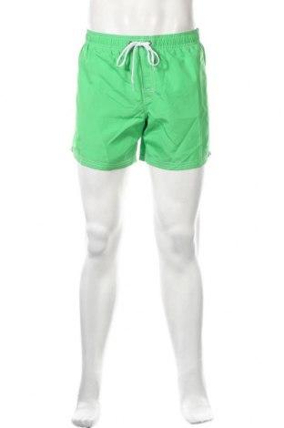Ανδρικό κοντό παντελόνι Sundek, Μέγεθος L, Χρώμα Πράσινο, Πολυεστέρας, Τιμή 11,56€