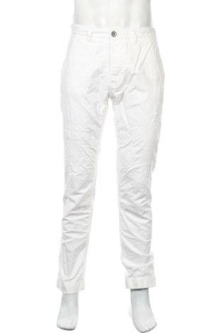 Мъжки панталон North Sails, Размер M, Цвят Бял, 100% памук, Цена 51,66лв.