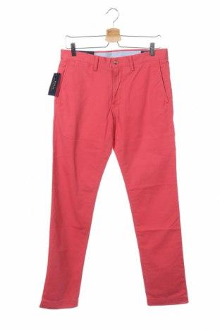 Мъжки панталон Polo By Ralph Lauren, Размер S, Цвят Розов, 97% памук, 3% еластан, Цена 72,80лв.