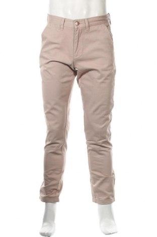 Pantaloni de bărbați SUN68, Mărime M, Culoare Bej, Bumbac, Preț 21,94 Lei