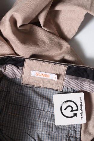 Pantaloni de bărbați SUN68, Mărime M, Culoare Bej, Bumbac, Preț 384,87 Lei