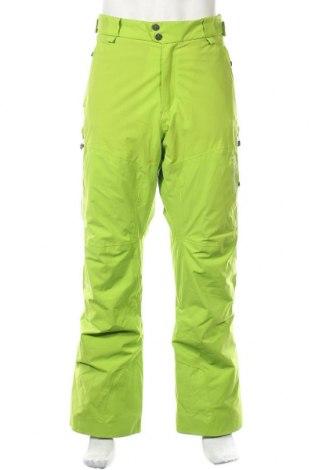 Мъжки панталон за зимни спортове Peak Performance, Размер L, Цвят Зелен, Полиестер, Цена 71,44лв.