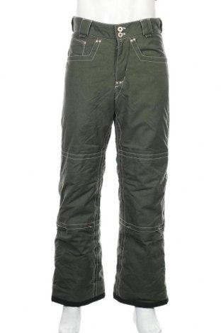 Мъжки панталон за зимни спортове Peak Performance, Размер M, Цвят Зелен, Полиамид, Цена 58,21лв.