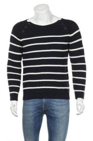 Мъжки пуловер North Sails, Размер S, Цвят Син, 60% памук, 20% полиамид, 20% вълна, Цена 117,18лв.
