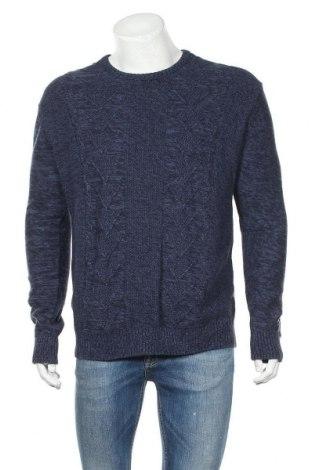 Мъжки пуловер Target, Размер S, Цвят Син, Памук, Цена 22,46лв.