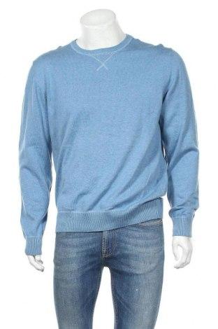 Мъжки пуловер Target, Размер XL, Цвят Син, Памук, Цена 26,37лв.