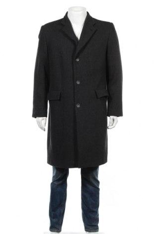 Мъжко палто Authentic Clothing Company, Размер L, Цвят Сив, 50% вълна, 35% полиестер, 15% полиамид, Цена 51,45лв.