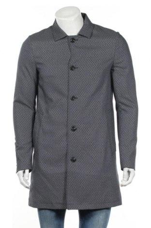 Ανδρικά παλτό Patrizia Pepe, Μέγεθος M, Χρώμα Μπλέ, 53% πολυεστέρας, 45% βισκόζη, 2% ελαστάνη, Τιμή 82,27€